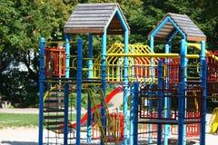 Empty playground royalty free stock photos