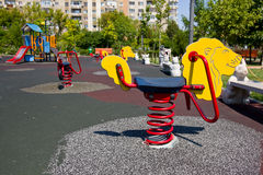 Empty playground Stock Image