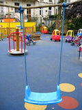 Empty playground Royalty Free Stock Images