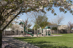 Empty playground Stock Photography