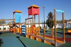 Empty playground Stock Images