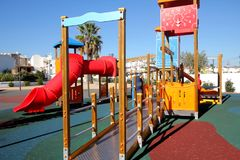 Empty playground Royalty Free Stock Photography