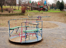 Empty playground Stock Photo
