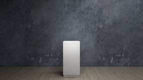 Empty plinth Royalty Free Stock Photo