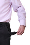 Empty pocket Stock Photos
