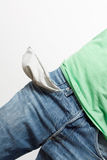 Empty pockets Royalty Free Stock Images