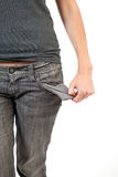 Empty pockets Stock Photography