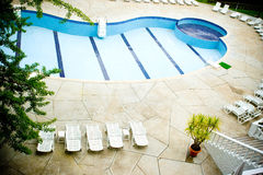 Empty pool Royalty Free Stock Images