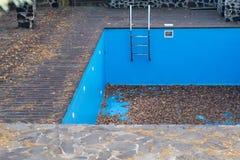 Empty pool Stock Photo