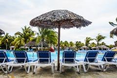 Empty Pool in resort Stock Photo
