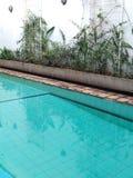 Empty Pool. Swim swimming water nature wet Stock Photos
