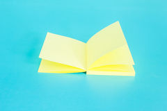 Empty Post-It with Pencil Stock Images