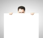 Empty poster Royalty Free Stock Images