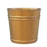 Empty pot isolated on white Stock Image