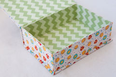 Empty present box Royalty Free Stock Image