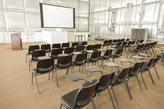 Empty Presentation Conference Room Stock Photos