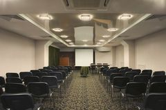 Empty Presentation Room Royalty Free Stock Photo