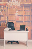 Empty president`s office Stock Image