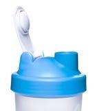 Empty protein shaker. On white background Stock Image