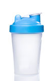 Empty protein shaker royalty free stock photo