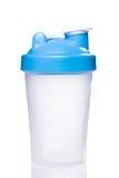Empty protein shaker Royalty Free Stock Photo