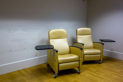 Empty psych room with chairs Royalty Free Stock Images