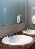 Empty public toilet room. Royalty Free Stock Photography
