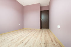 Bare empty room with a wooden parquet floor stock illustration image 46945133 for Peinture interieur