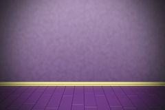 Empty purple wall Stock Photos