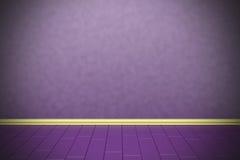 Empty purple wall Stock Photos