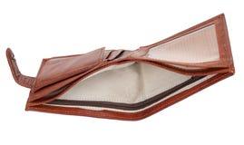 Empty purse Royalty Free Stock Photography