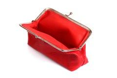 Empty purse Stock Photo