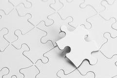 Empty Puzzle Stock Photos