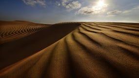 Empty Quarter. Arabic Empty Quarter in The Arabian Gulf stock images