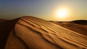 Empty Quarter. Arabic Empty Quarter in The Arabian Gulf Royalty Free Stock Photos
