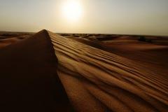 Empty Quarter. Arabic Empty Quarter in The Arabian Gulf royalty free stock images