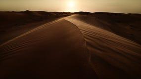 Empty Quarter. Arabic Empty Quarter in The Arabian Gulf stock image