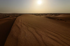 Empty Quarter. Arabic Empty Quarter in The Arabian Gulf stock photography