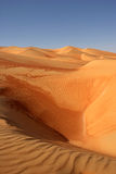 Empty Quarter Dunes Royalty Free Stock Image