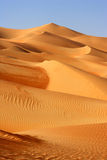 Empty Quarter Dunes Royalty Free Stock Photo