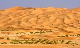 Empty Quarter Wadi royalty free stock photo