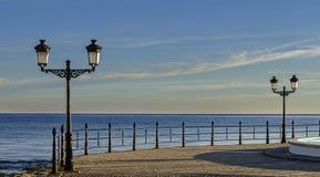 Empty quay Stock Photo