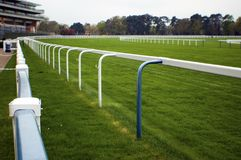 Empty race course Royalty Free Stock Image