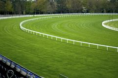 Empty Racecourse Stock Images