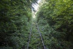 Empty railway Stock Images