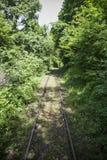 Empty railway Stock Photography