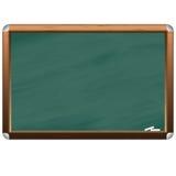 Empty realistic black board Royalty Free Stock Photos