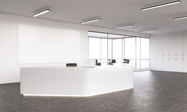 Empty reception Stock Images