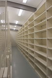 Empty Records storage room Royalty Free Stock Photography