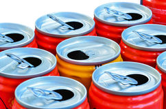 Empty recycle cans Royalty Free Stock Image